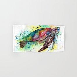 Turtle Hand & Bath Towel