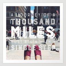 Your Journey Art Print