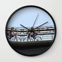 Reflectobridge Wall Clock