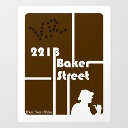 Baker Street Babes: 221B Baker Street Art Print