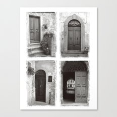 Doors of Rome Canvas Print