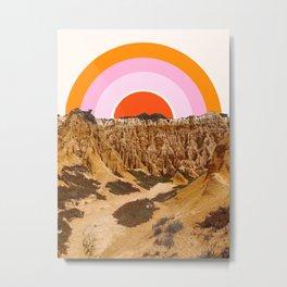 Alentejo Rainbow Metal Print