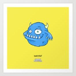 Bounceefluff Art Print