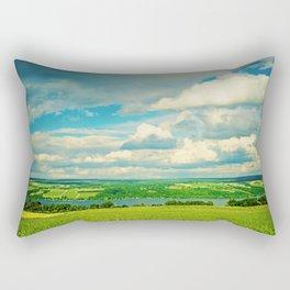 Seneca Lake Wine Road Rectangular Pillow