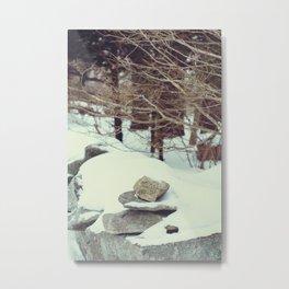 Balanced Texture Pt. 1 Metal Print