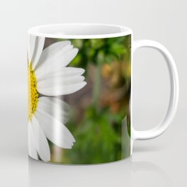 Magic Field Summer Grass - Chamomile Flower with Bug - Macro Coffee Mug