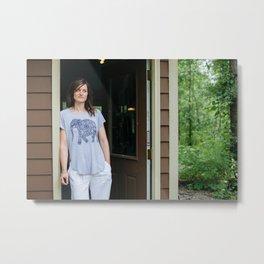 Artists In Jackson: Nicole Cure Metal Print