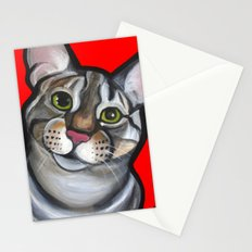 Lola the tabby Stationery Cards