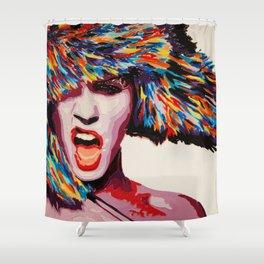 Winter Bang Shower Curtain
