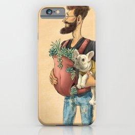 The Happy Hipster iPhone Case