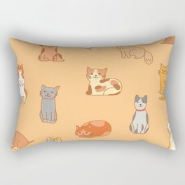 Bring me along on this Purrrrfect Day! Rectangular Pillow