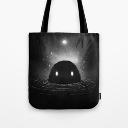 The Creature from the Black Swamp Tote Bag