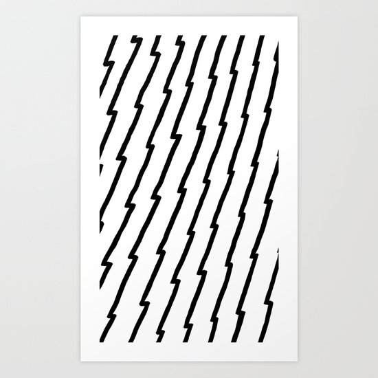 Raw Pattern Series: n.2 Art Print