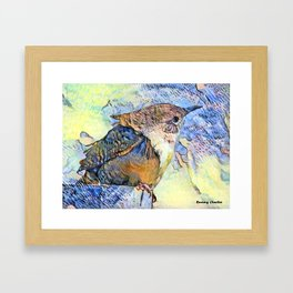 Sing Little Wren Framed Art Print