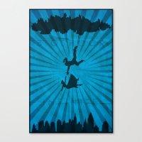 bioshock infinite Canvas Prints featuring Bioshock Infinite by FelixT