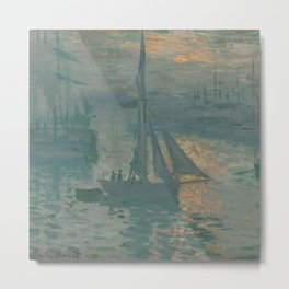Sunrise (Marine) Metal Print
