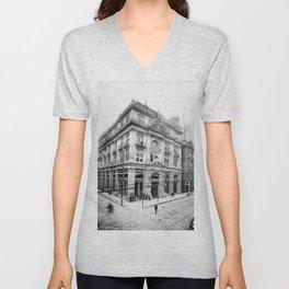 Cotton Exchange New Orleans 1881 Unisex V-Neck