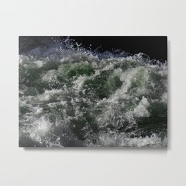 Rapids Frozen in Time Metal Print