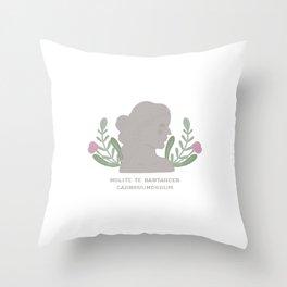 Nolite te bastardes carborundorum | Venus de Milo Throw Pillow