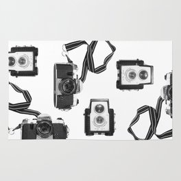 Vintage Camera Collection Rug