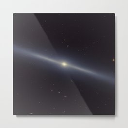 Space Galaxy Metal Print