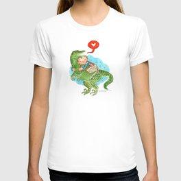 Jurassic World Hug T-shirt