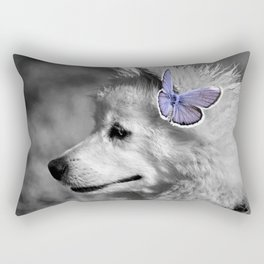 American Eskimo Rectangular Pillow