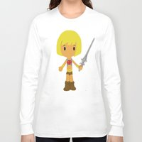 he man Long Sleeve T-shirts featuring MUSCLOR AKA HE-MAN by Christophe Chiozzi