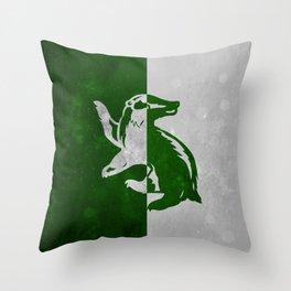 Hufflerin Throw Pillow