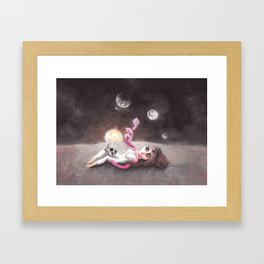 Lost far away from home Framed Art Print
