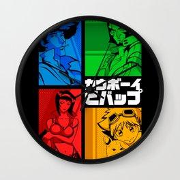 142 Cowboy RGB Wall Clock