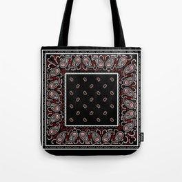Wicked Black Bandana Tote Bag