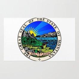 State Seal of Montana Rug