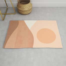 Abstraction_SUN_MOUNTAINS_BOHO_Minimalism_001 Rug