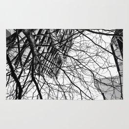 Tree Business Nature Merge BW Rug
