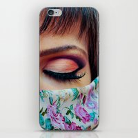 make up iPhone & iPod Skins featuring Make Up by Eduard Leasa Photography