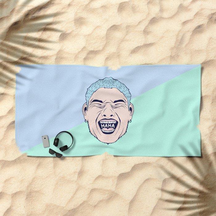 HAHA Beach Towel