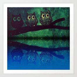 owl 46 Art Print
