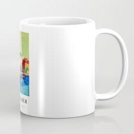 france Chemins de Fer Français, Côte d'Azur Roger BEZOMBES 1966 Coffee Mug