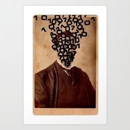 Ones and Zeroes Art Print