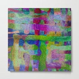 Hidder Matrix Metal Print