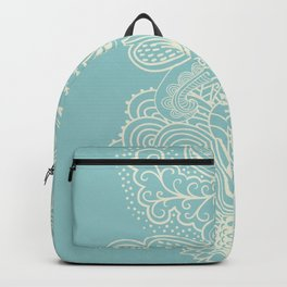 Abstract Nature In Aqua Backpack