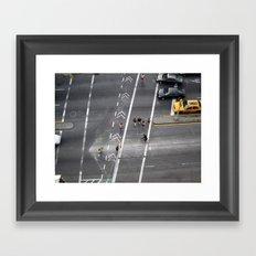 The Bowery, NYC 2011 Framed Art Print
