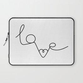 Woman & LoveMe Laptop Sleeve