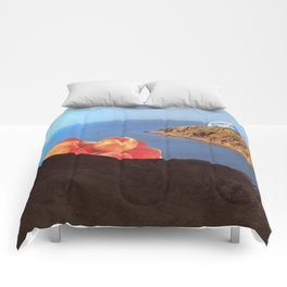 Earth and Peaches Resting Comforters