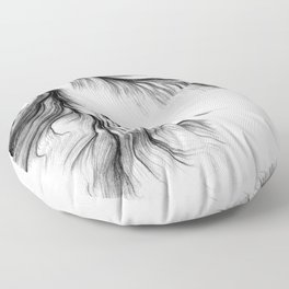 Tear Floor Pillow