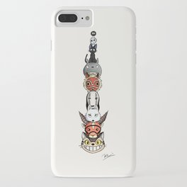 Totoro's neighbors from Spirited Away, Princess Mononoke and Kiki's Delivery Service iPhone Case