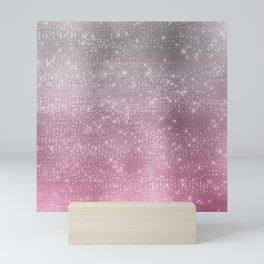 Pastel shimmer 1 Mini Art Print