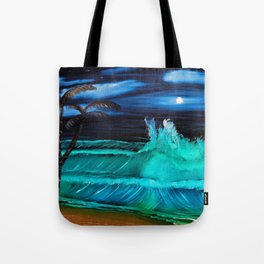 """Moonlite Tides"" Tote Bag"