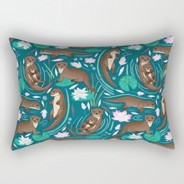 How We Love Each Otter Rectangular Pillow